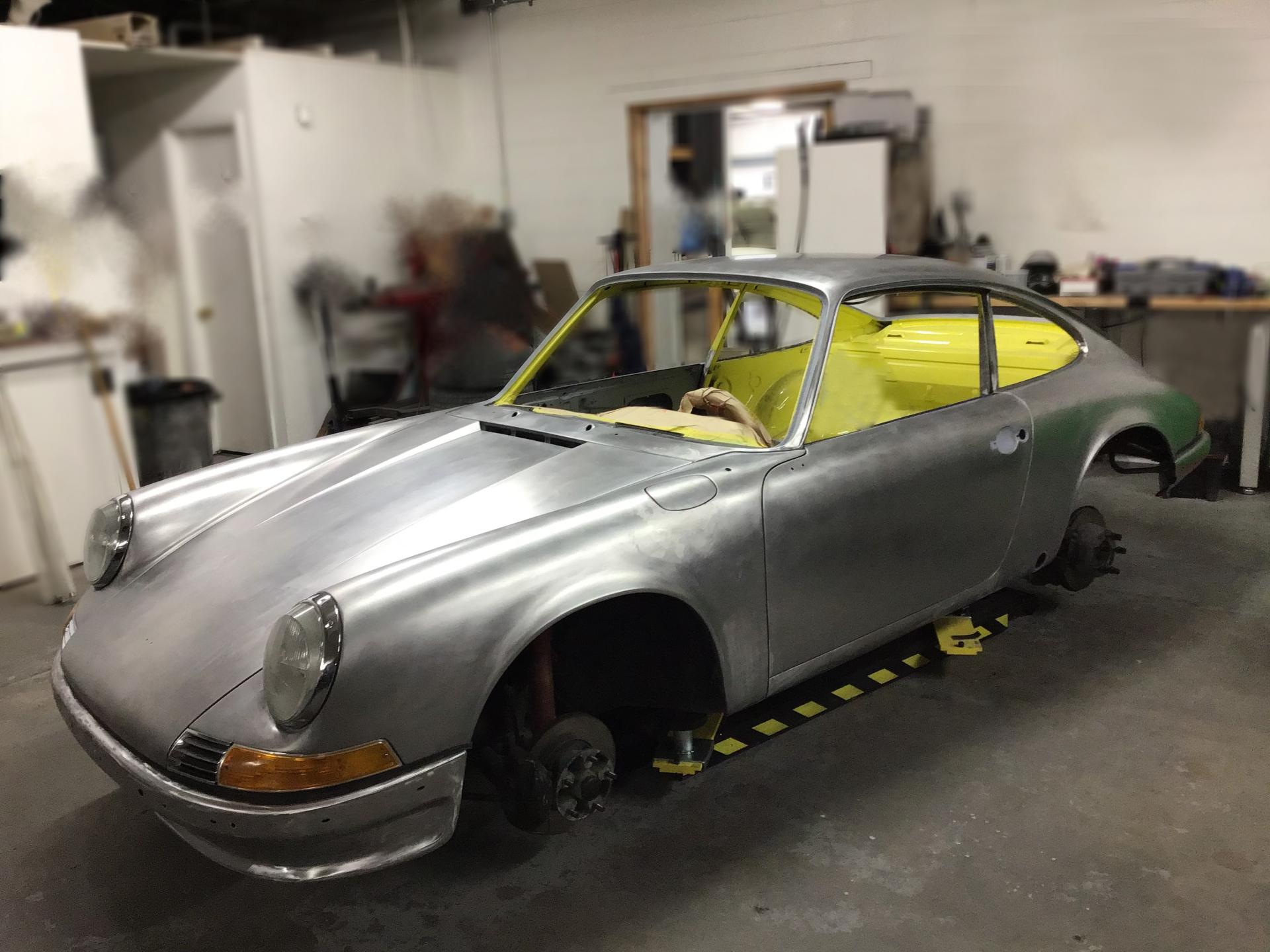 1972 911S For Sale (Restoration In Progress)
